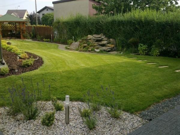 Zaprojektowany ogród 12