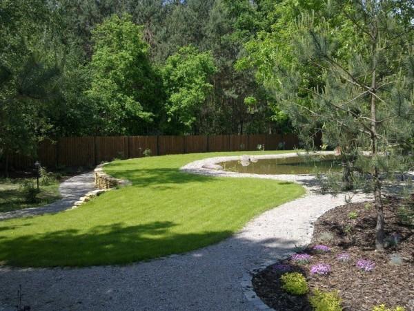 Zaprojektowany ogród 3